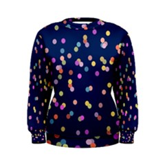 Playful Confetti Women s Sweatshirt