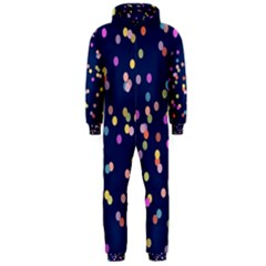 Playful Confetti Hooded Jumpsuit (men)
