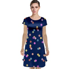 Playful Confetti Cap Sleeve Nightdress