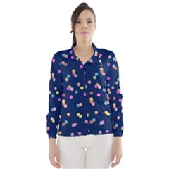 Playful Confetti Wind Breaker (women)