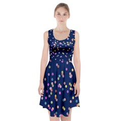 Playful Confetti Racerback Midi Dress