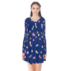 Playful Confetti Flare Dress