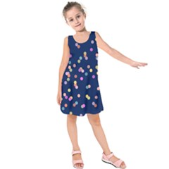 Playful Confetti Kids  Sleeveless Dress