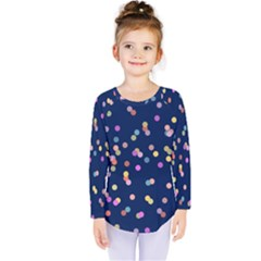 Playful Confetti Kids  Long Sleeve Tee