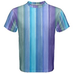 Provence Fields Lavender Pattern Men s Cotton Tee