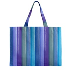 Provence Fields Lavender Pattern Mini Tote Bag