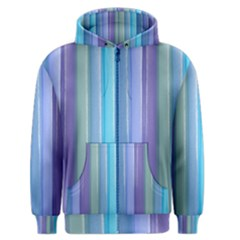 Provence Fields Lavender Pattern Men s Zipper Hoodie