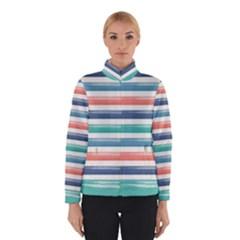 Summer Mood Striped Pattern Winterwear