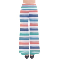 Summer Mood Striped Pattern Pants