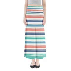 Summer Mood Striped Pattern Maxi Skirts