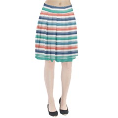 Summer Mood Striped Pattern Pleated Skirt
