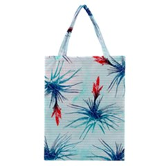 Tillansia Flowers Pattern Classic Tote Bag