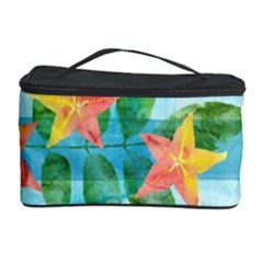 Tropical Starfruit Pattern Cosmetic Storage Case