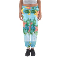Tropical Starfruit Pattern Women s Jogger Sweatpants