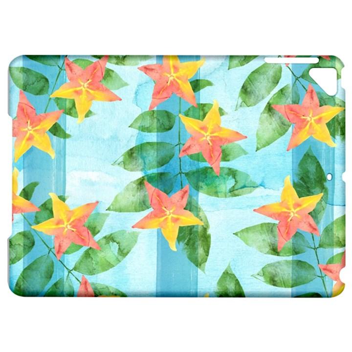 Tropical Starfruit Pattern Apple iPad Pro 9.7   Hardshell Case