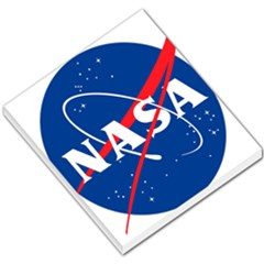 Nasa Logo Small Memo Pads by Onesevenart