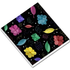 Colorful Floral Design Small Memo Pads