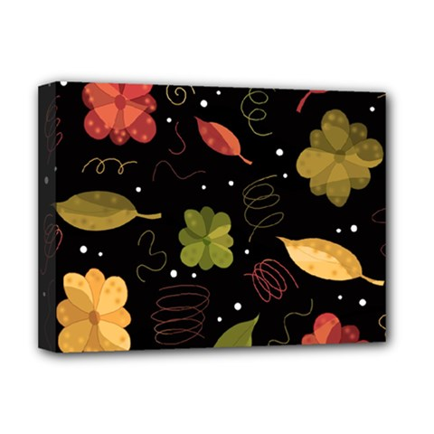 Autumn Flowers  Deluxe Canvas 16  X 12