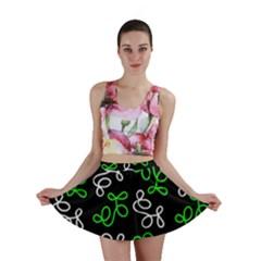 Elegance - green Mini Skirt by Valentinaart