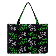 Elegance   Green Medium Tote Bag by Valentinaart