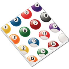 Billiards Small Memo Pads by AnjaniArt