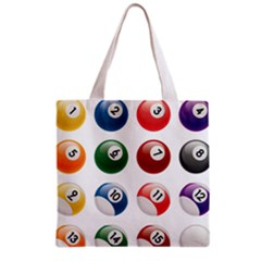 Billiards Grocery Tote Bag