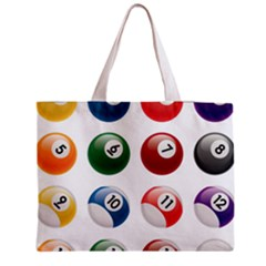 Billiards Medium Tote Bag