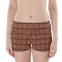 Chocolate Boyleg Bikini Wrap Bottoms by AnjaniArt