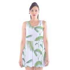 Hawai Tree Scoop Neck Skater Dress by AnjaniArt