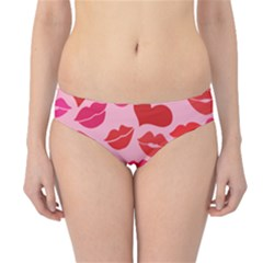Valentine s Day Kisses Hipster Bikini Bottoms by BubbSnugg