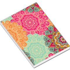 Art Abstract Pattern Large Memo Pads by Onesevenart