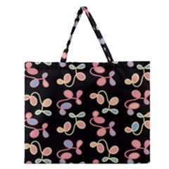 Elegant Garden Zipper Large Tote Bag by Valentinaart