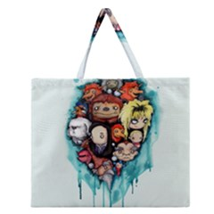 Should You Need Us 2 0 Zipper Large Tote Bag by lvbart