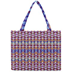 Ethnic Colorful Pattern Mini Tote Bag by dflcprints