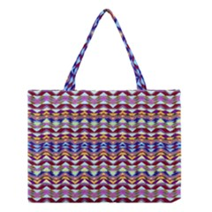 Ethnic Colorful Pattern Medium Tote Bag by dflcprints