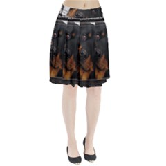 Rottweiler Framed Pleated Skirt by TailWags