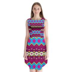 Sleeveless Chiffon Dress by LalyLauraFLM