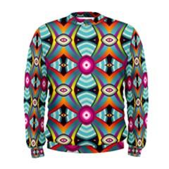 Targets Pattern                                                                                                                 Men s Sweatshirt