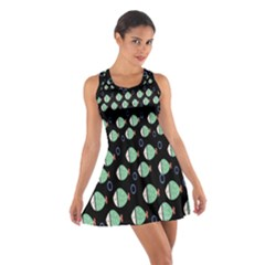 Fish Cotton Racerback Dress by AnjaniArt