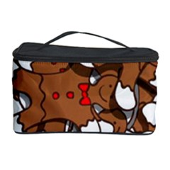 Christmas Candy Seamless Pattern Vectors Cosmetic Storage Case by Onesevenart