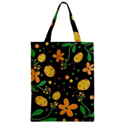 Ladybugs And Flowers 3 Zipper Classic Tote Bag by Valentinaart