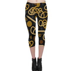 Bakery 2 Capri Leggings  by Valentinaart