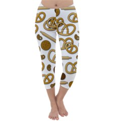 Bakery 3 Capri Winter Leggings  by Valentinaart