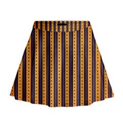 Printable Halloween Paper Mini Flare Skirt by AnjaniArt