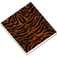 Skin2 Black Marble & Brown Marble Small Memo Pads