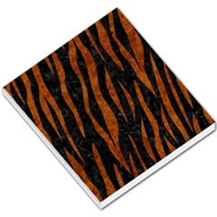 Skin3 Black Marble & Brown Marble Small Memo Pads