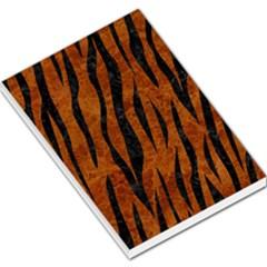 Skin3 Black Marble & Brown Marble (r) Large Memo Pads by trendistuff