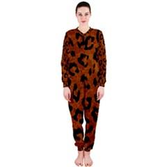 Skin5 Black Marble & Brown Marble Onepiece Jumpsuit (ladies) by trendistuff