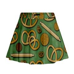 Bakery 4 Mini Flare Skirt