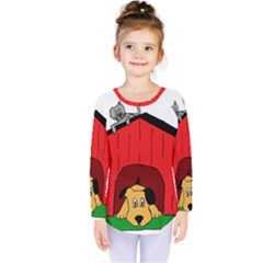 Dog Toy Clip Art Clipart Panda Kids  Long Sleeve Tee